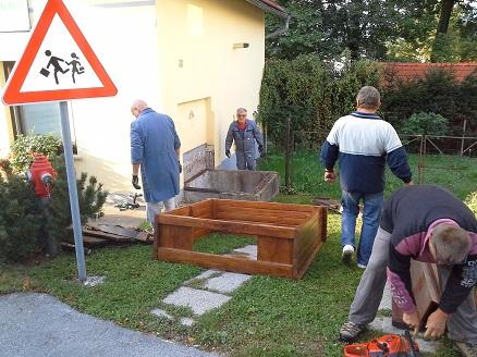 Obnova turističnega vodnjaka