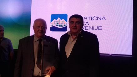 Edvard Gmajner s predsednikom TZS