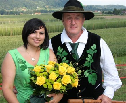 Hmeljski starisina in princesa 2009